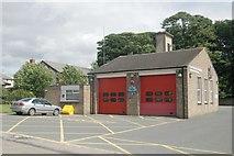 NZ0516 : Barnard Castle fire station by Kevin Hale
