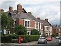 NZ2567 : Stoneyhurst Road / Balmoral Terrace, Gosforth, NE3 by Mike Quinn