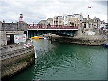 SY6778 : Bridge, Weymouth, Dorset by Christine Matthews