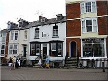 SY6778 : Quayside shops, Weymouth, Dorset by Christine Matthews