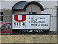 R6152 : Sign at self-store facility, Ballybrennan by David Hawgood