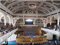 SD7109 : Inside the hall by Bill Nicholls