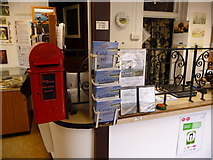 SS1496 : Caldey Island: inside the post office by Chris Downer
