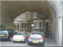 TQ2475 : Railway arch at Winthorpe Road, Putney by Marathon