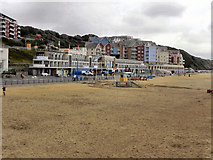 SZ1191 : Boscombe Beach by David Dixon