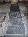 TM3669 : St Peter, Sibton- floor memorial (2) by Basher Eyre