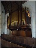 TM3669 : St Peter, Sibton- organ by Basher Eyre