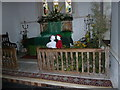 TM3669 : St Peter, Sibton- day after the flower festival (8) by Basher Eyre