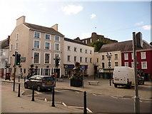 SM9515 : Haverfordwest: Castle Square by Chris Downer