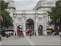 TQ2780 : Marble Arch by Row17