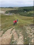 SS8872 : Glamorgan Heritage Coast footpath by Eirian Evans