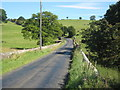 NZ0522 : Billy Lane crossing Langley Beck near Kinninvie by peter robinson