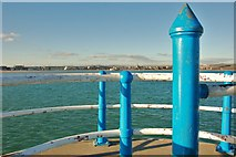 SY6878 : Weymouth: South Pier Lookout by Mr Eugene Birchall