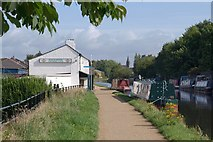SJ7993 : Watch House, Bridgewater Canal by Derek Harper