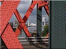 SJ8196 : Trafford Road Bridge by Derek Harper