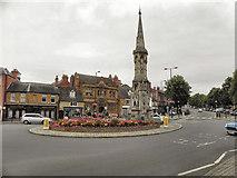 SP4540 : Banbury Cross by David Dixon