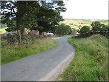 SE6197 : Minor road near Colt House Farm by Philip Barker