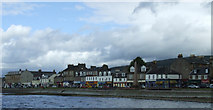 NS2982 : West Clyde Street from the pier by Thomas Nugent