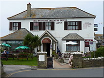 SX0588 : The Wootons - an inn and pub in Tintagel by Richard Law