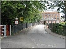 SK3538 : Toll Bridge Darley Abbey, Derby by Eamon Curry