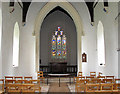 TF7932 : St Mary's church in Bagthorpe - view east by Evelyn Simak