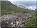 NN1638 : River Kinglass by Hugh Venables