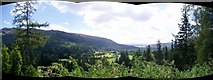 NS1385 : View from above Benmore Gardens by Graham Hogg