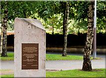 J3374 : Spanish civil war memorial, Belfast (3) by Albert Bridge