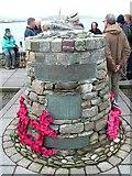 HU4039 : The Shetland Bus memorial by Jim Strang