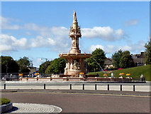 NS6064 : The Doulton Fountain, Glasgow Green by David Dixon