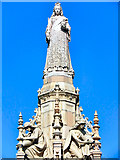 NS6064 : Queen Victoria Statue, Doulton Fountain by David Dixon