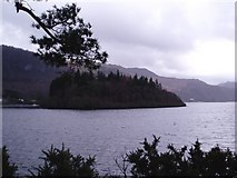 NY2622 : Lord's Island, Derwentwater by Graham Hogg