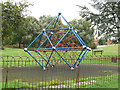 TQ3971 : Contemporary climbing frame by Stephen Craven