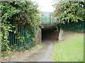 ST4286 : Magor Crossing underpass by Jaggery