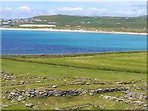 HU3909 : Viking Remains, Jarlshof by Colin Smith