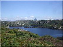NC0624 : Loch Roe by John Lord