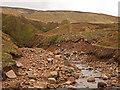 NT9220 : Harthope Burn flood damage(2) by Kenneth   Ross