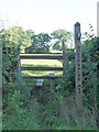 SO5788 : Stile on the Shropshire Way by Row17