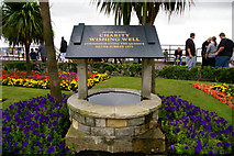 TM1714 : Charity Wishing Well, Clacton-on-Sea, Essex by Christine Matthews