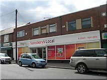 SE5023 : Sainsbury's Local - Racca Green by Betty Longbottom
