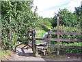SX8174 : Start of footpath to Trago Mills by Richard Dorrell