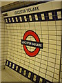 TQ3080 : Tiles, Leicester Square Underground Station WC2 by Robin Sones