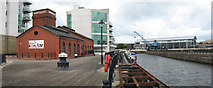 ST1974 : Former dockland in Cardiff Bay by Gareth James