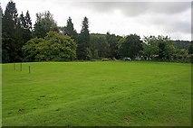 NX4564 : Car Park, Kirroughtree Forest by Mick Garratt
