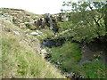 NY8514 : Waterfall on Smeltmill Beck by David Brown