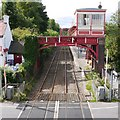 NZ1164 : Signal box, Wylam station by Andrew Curtis