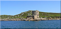 SV8815 : Cromwell's Castle, Tresco, from the sea by John Rostron
