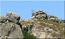 SV8815 : Gibbet on Hangman Island, Bryher by John Rostron