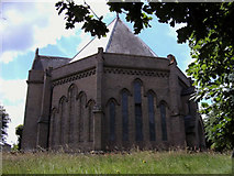 TM0221 : St Lawrence Church, East Donyland, Essex by Peter Stack