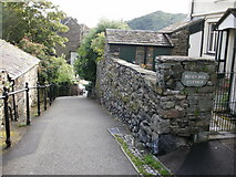 NY3704 : Peggy Hill, Ambleside – view down by Peter S